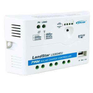 Ρυθμιστής Φόρτισης PWM Epsolar LS2024EU Με USB