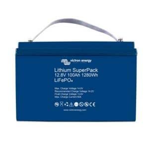 Μπαταρία Λιθίου (Lithium) Victron SuperPack 12.8V100Ah