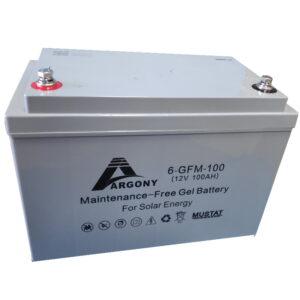 Μπαταρία Βαθιάς Εκφόρτωσης ARGONY Gel c10-100Ah-12V